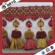 Tassel curtain fringe fringe for curtains trimmings