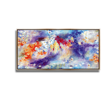 2017 New style canvas abstract oil art painting picture with frame