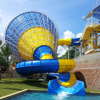 Professional popular commercial grade inflatable water slides factory price