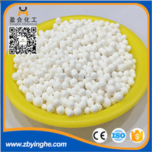 Activated alumina desiccant used for drying water filter