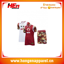 Full Sublimation Print Cheap Philippines Camo Basketball Uniform Custom Made