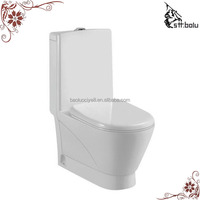 Floor mounted toilet siphon wc toilet set with toilet logo