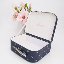 Custom Small Decorative Cardboard Suitcase Gift Box Wholesale