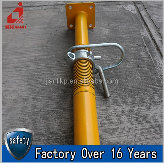 Hot Sale Scaffolding Steel Shoring Prop For Concrete Slab