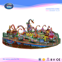 Wanle New design amusement park equipment rotating dinosaur rides for kiddie rides