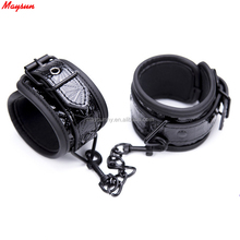 Japan SM Personalized Engraved Handcuffs Black