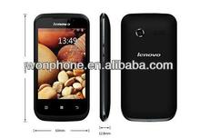 "Original Lenovo A60+ android phone 3.5"" 480*320pixels mtk6575 android 2.3 OS RAM:256 ROM:512 GPS WIFI Dual sim card"