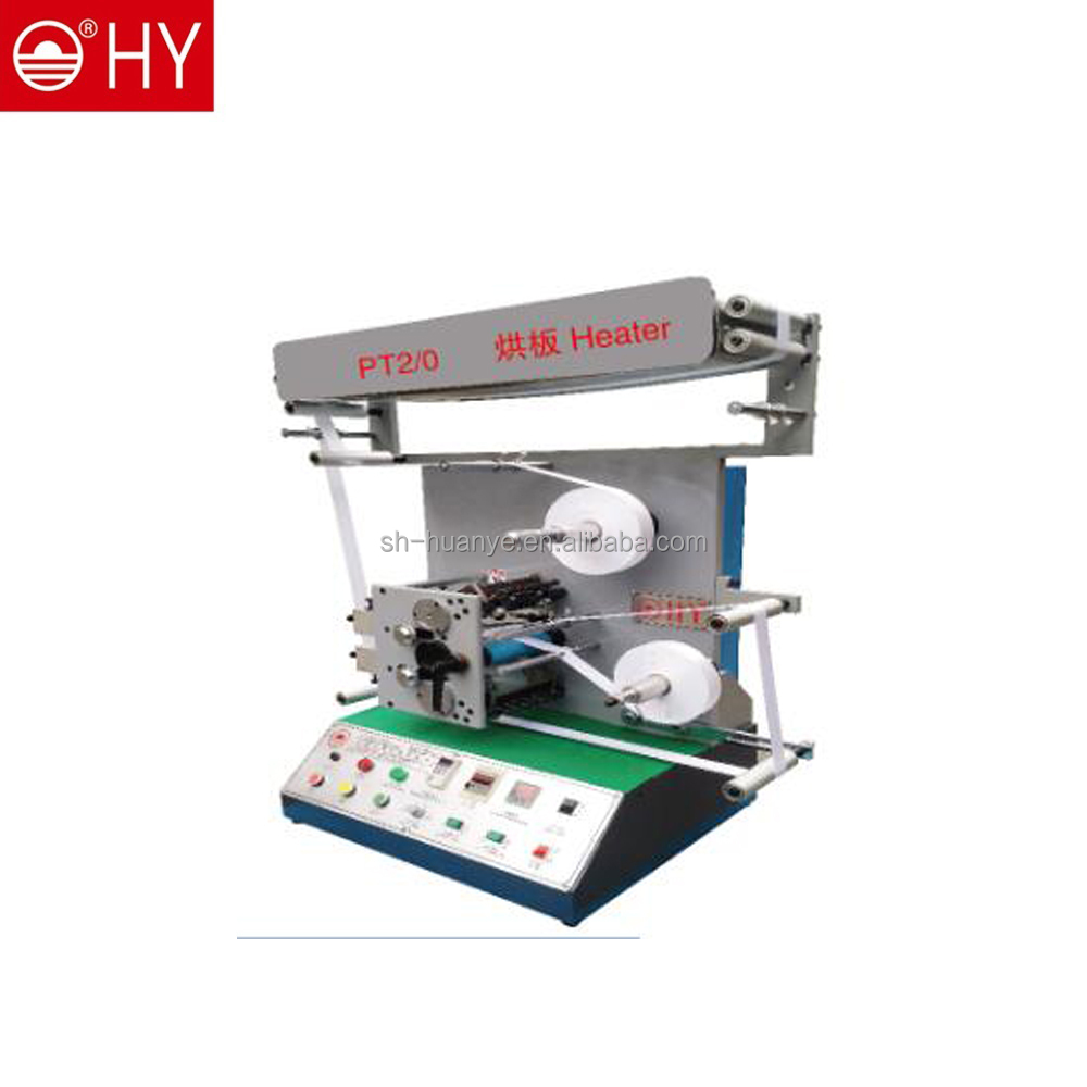 FACTORY DIRECT 2 color one side care label Flexographic Printing Machine
