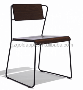 Metal Vintage Industrial Style Side Dining Cafe Chairs