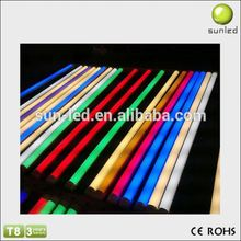 Good performance colorful High brightness led tube light components