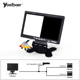 7'' Car Reversing Aid Waterproof Backup Car Camera System For Bus Truck With 4 Channels 7 Inch LCD Monitor