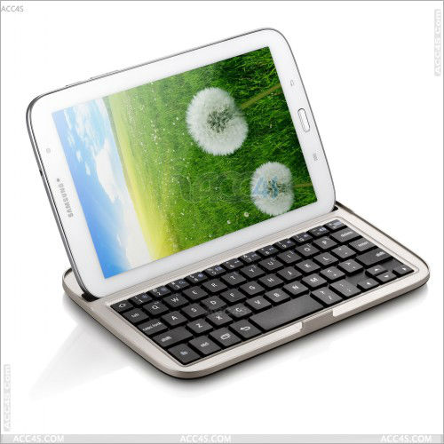 China Manufacture Wireless Bluetooth Keyboard for Samsung Galaxy Note 8.0 N5100 N5110 P-SAMNOTE80BLUEKB002