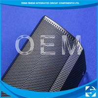 Excellent Material Photo Chemical Etching Perforated Metal Mesh For Speaker Grill\T