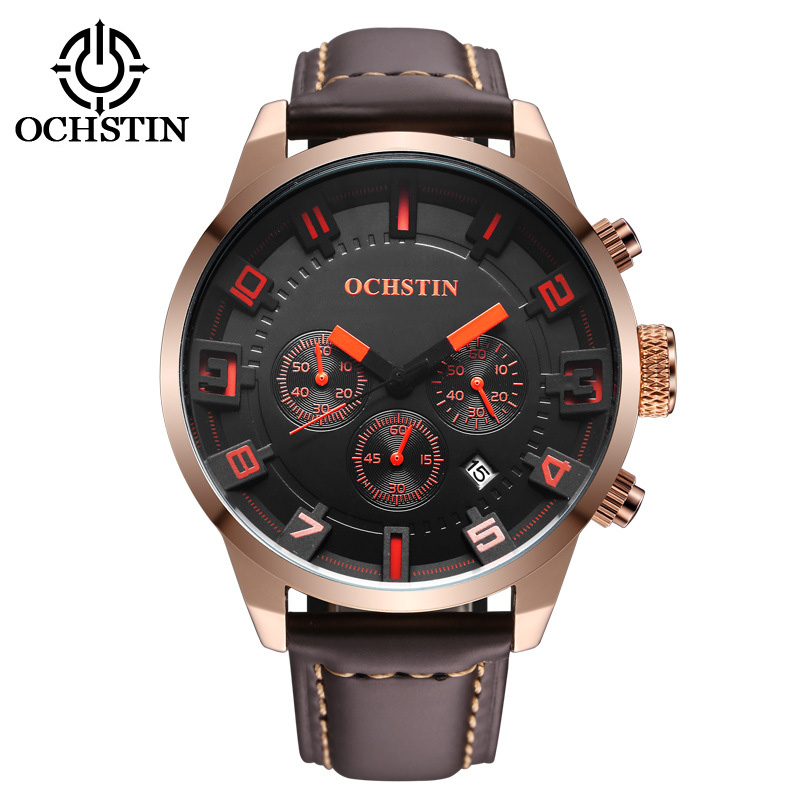 Multi-function waterproof sport men watches ,brand quartz watch men 2016