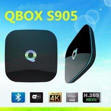 Wholesale Q Box Amlogic S905 Android 5.1 Smart Tv Box 2g/16g H.265 4K Kodi 16.0 Quad Core TV Box OEM & ODM Qbox