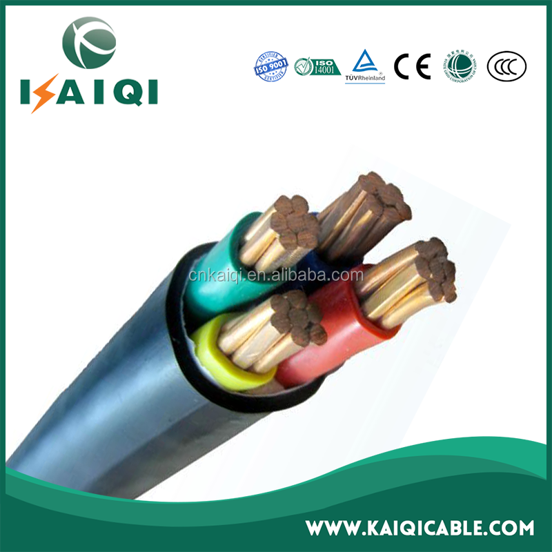 Laid Underground Low Voltage PVC 35mm 4 Core Cable