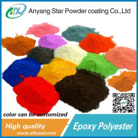 Factory Supplier high temperature resistant Epoxy Powder Coating for Metal furniture for wheel hub