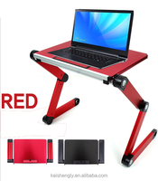 Best folding adjustable height flip computer table