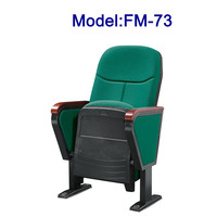 No.FM-73 Theater folding chair fabric cover