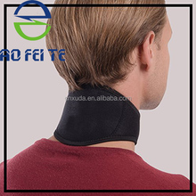 Wholesale private label adjustable neck fatigue relief self heating neck support brace with magnets