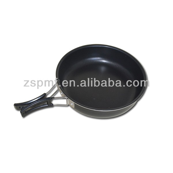 8 inch round aluminum non-stick frying pan