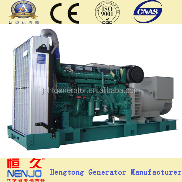on sale ! ce approved 400kw diesel generator powered by VOLVO TD1641GE engine