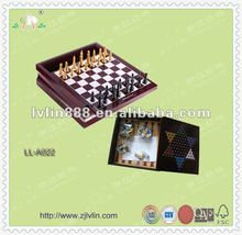 10 in 1 wooden chess game set/Chess game