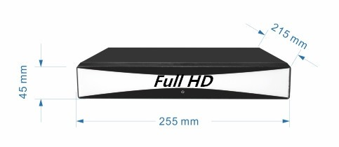 2016 New Item 8CH 4 in 1 DVR TVI/AHD/Analog/IP H.264 CCTV DVR