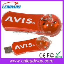 Aqua USB 2.0 Special USB Flash Drive with Custom 3D Floator