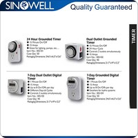 Factory Wholesale Price Top Quality electrical socket timer