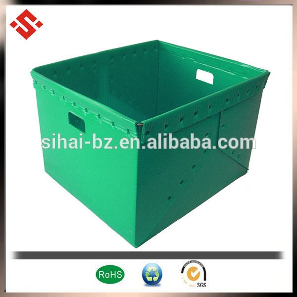 popular plastic packaging box foldable plastic box foldable packaging box