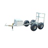 Hign quality factory direct custom small size outdoor car trailers cargo utility motorcycle trailers