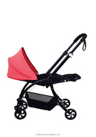 New arrivals baby carriage for the baby under 36months with high hardness sleeping basket and seat unit superb