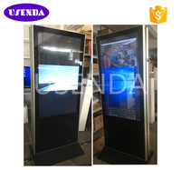 43 46 55 65 inch Double Sided LCD Advertising Media Player Dual Screen Totem