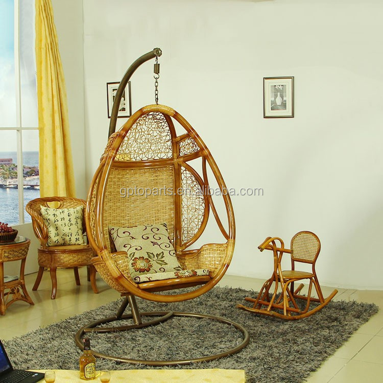 Opknoping pod re le rotan schommel stoel thuis meubilair for Meubilair groothandel