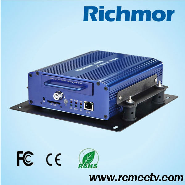 3G CMS Software 4CH/8CH DVR Realtime Recording GPS Tracking