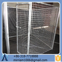2015 High Quality Square/Round beautiful New Desigh powder coating or galvanized welded dog kennels and chain link dog cages