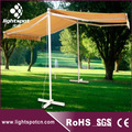 Garden used double sided gazebo retractable awning