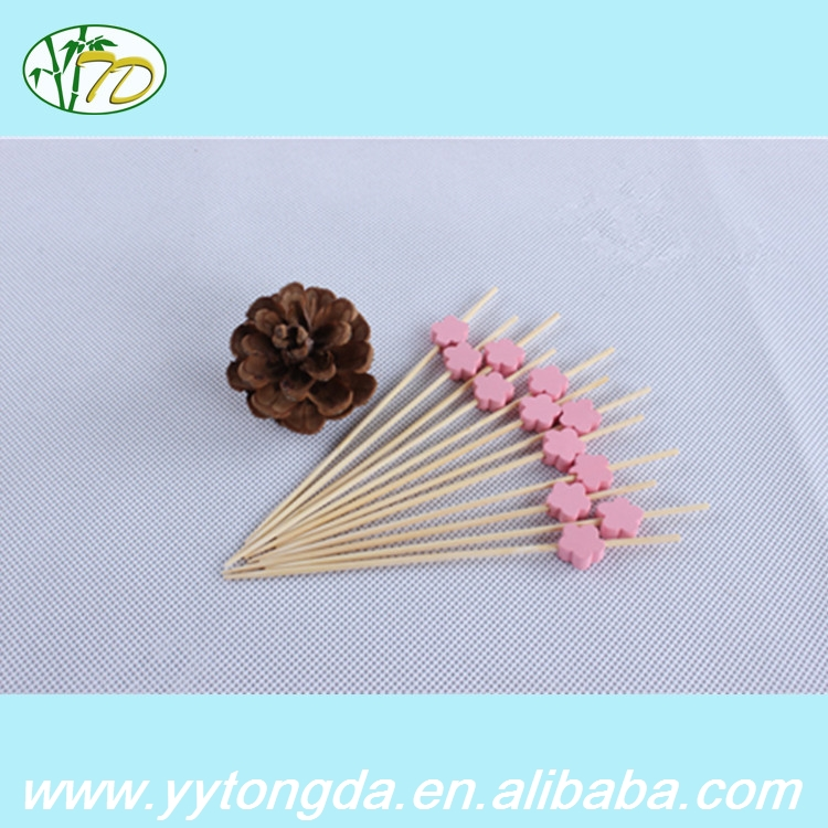 New coming top quality bbq spits round bamboo sticks for bbq