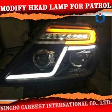 Hot Sell Modified Led Head Lamp For Nissan Patrol 2014
