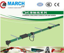 High quality Unipole insulated safe conductor bus bar for crane electrification