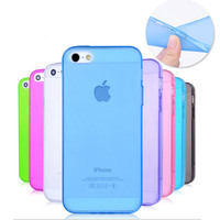 0.3mm Slim Ultra Thin Colorful Transparent phone Case For iphone 6/6s /6 plus TPU Clear