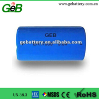 GEB 3.6V 3.5Ah Lithium-ion Chloride Battery ER17335 cylindrical battery