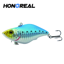 hard plastic vibe fishing lure