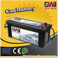 Lead acid mf car batterys N120-115F51 12v120ah and factory price