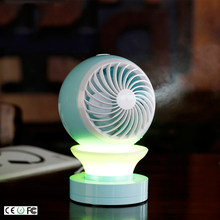 High quality dingdong usb portable small super cold water mist air cooling fan with water tank for kids