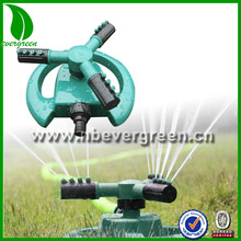 grass Lawn Watering 360 Degree Fully Rotating 3 arm lawn sprinkler