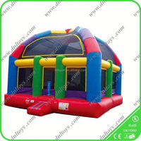 best price Inflatable cow bouncer/large bouncy castle for kids