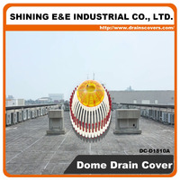 DC-D1810A Roof Drain Hole Cover Outdoor Drainage System