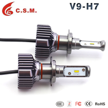 Car headlight V9 3800LM 6000K bulbs kits H1 H3 H4 H7 H8/H9/H11 H13 high quality